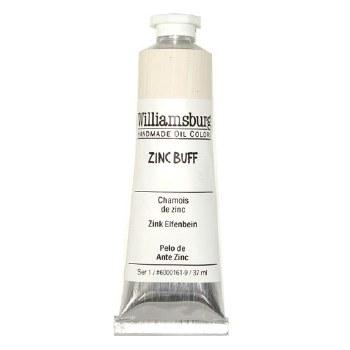 Williamsburg Oil Colors, 37ml, Zinc Buff