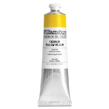 Williamsburg Oil Colors, 150ml, Cadmium Yellow Medium