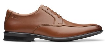 Clarks Bensley Run Tan Leather