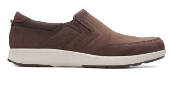Clarks Un Trail Step Brown Nubuck