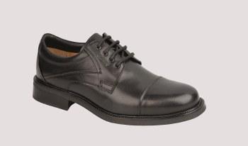 Dubarry Dalton Black Leather wide fit