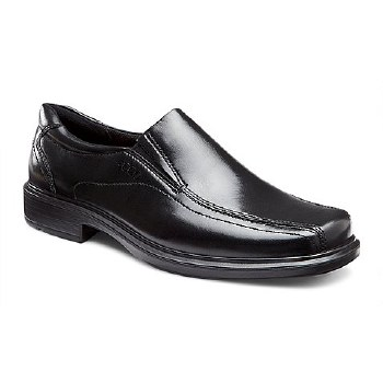 Ecco Helsinki Slip On Black 45