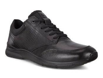 Ecco Irving Black Leather