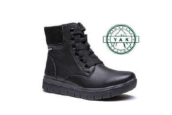G-Comfort 929 Black Leather Boot