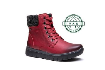 G-Comfort 929 Red Leather Boot