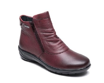 G-Comfort 9521 Burgundy Leather Boot