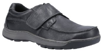 Hush Puppies Casper Black Leather