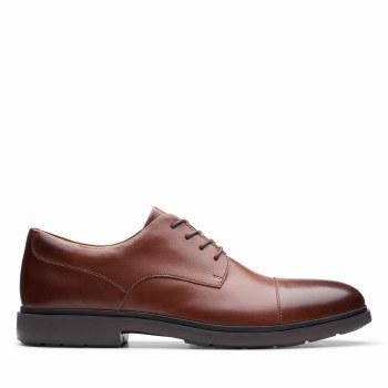 Clarks UnTailor Cap Tan Leather