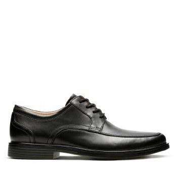 Clarks UnAldric Park Black Leather