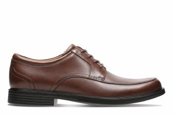 Clarks UnAldric Park Tan Leather