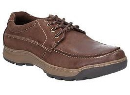Hush Puppies Tucker Brown Leather