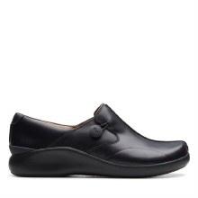 Clarks Unloop2 Black Leather