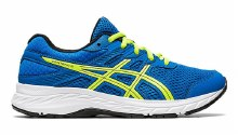 Asics Contend 6  BLUE/LIME 2.5