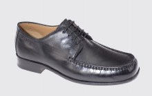 Dubarry Denver Black Leather With Leather Sole