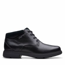 Clarks UnTread GTX Black Leather