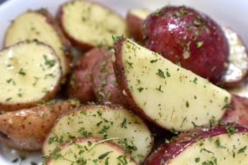 Potatoes - Garlic Herb Reds