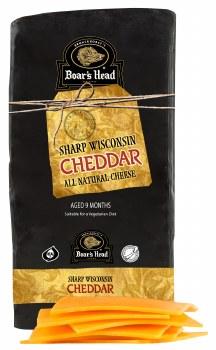 Black Wax Cheddar - Boar's Head
