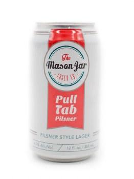 Mason Jar - Pull Tab