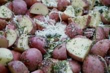 Potatoes - Rosemary and Parmesan