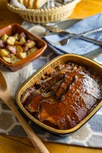 Beef Brisket and Baked Beans