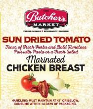 Chicken Breast - Sun-dried Tomato