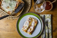 Four Cheese Manicotti