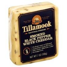 Tillamook - Smoked Black Pepper White Cheddar