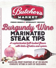 Steak Tips - Burgundy Wine