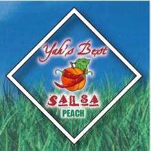 Yah's Best - Peach Salsa