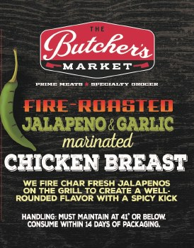 Chicken Breast - Jalapeno & Garlic