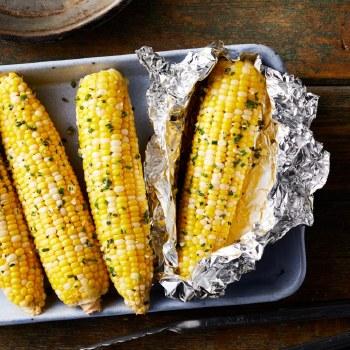 Corn - Garlic Butter