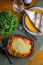Bolognese Bechemel Lasagna