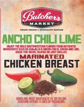 Chicken Breast - Ancho Chili Lime