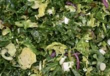 Kale & Brussel Salad