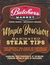 Steak Tips - Maple Bourbon