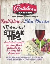 Steak Tips - Red Wine Blue Cheese