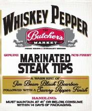 Steak Tips - Whiskey Pepper