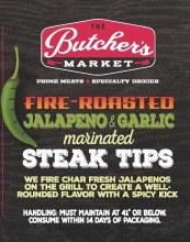 Steak Tips - Jalapeno & Garlic