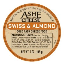 Ashe County - Swiss Almond Cheese Spread