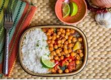 Grilled Veg Rice Bowl