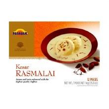 Kesar Rasmalai 12pc 1kg