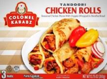 Tandoori Chicken Rolls 3r