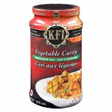 Vegetable Curry 400g