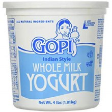 Whole Milk Yogurt 4lb