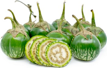 Eggplant Thai Green PER LB