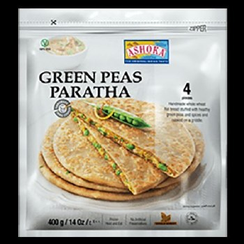 GREEN PEAS PARATHA 4ct