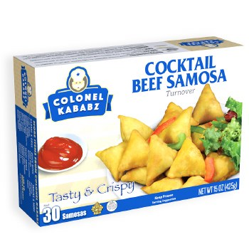 BEEF COCKTAIL SAMOSA 30 Ct