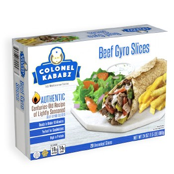 BEEF GYRO SLICES 680g