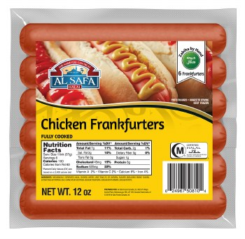 Chicken Frankfurters 12oz