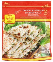 CHEESE & SPINACH NAAN 400G